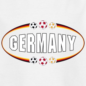 Fußballshirt Germany Sommer 2014 - Kinder T-Shirt
