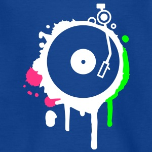 Turntable Graffiti Shirts - Kids' T-Shirt