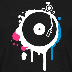 Turntable Graffiti T-Shirts - Männer T-Shirt
