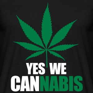 Yes we cannnabis T-Shirts - Men's T-Shirt