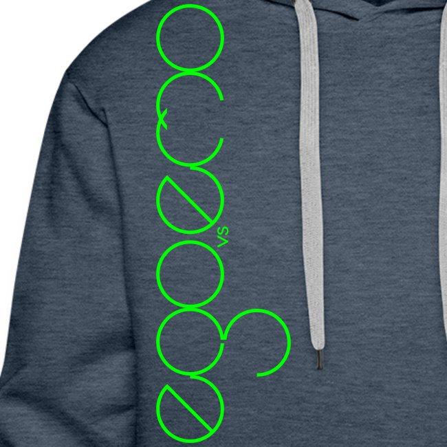 Ego Vs Emo - 01 - Hoodie - Neongrün
