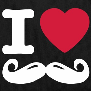 i love moustache Sacs - Sac Retro