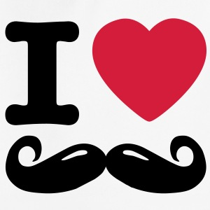 i love moustache Pullover & Hoodies - Kinder Premium Hoodie