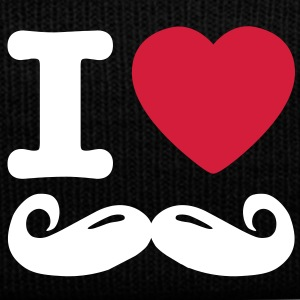 i love moustache Kasketter & Huer - Winterhue