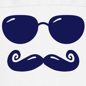 sunglasses and moustache  Aprons - Cooking Apron