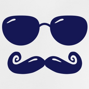 sunglasses and moustache T-shirts - Baby T-shirt