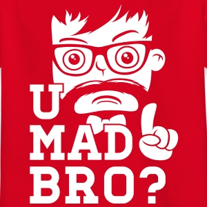 Like a cool you mad story bro moustache Shirts - Kids' T-Shirt