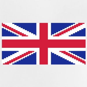 Union Pixel Jack UK Flag Shirts - Baby T-Shirt