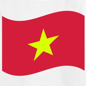 Vietnam Flag Wave Shirts - Kids' T-Shirt