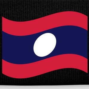 Laos / Lao Flag Wave Caps & Hats - Winter Hat