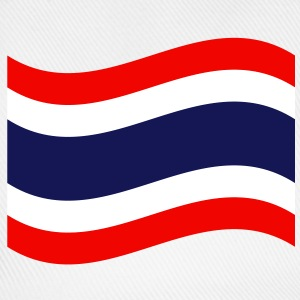 Thai Flag Wave Caps & Hats - Baseball Cap