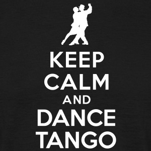 Keep calm and dance Tango Tee shirts - T-shirt Homme