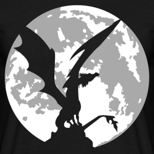 dragon on moon T-Shirts - Men's T-Shirt