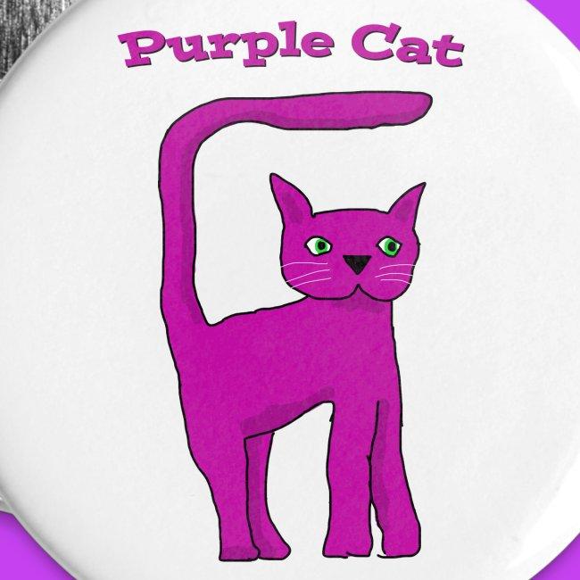 Purple Cat Badges