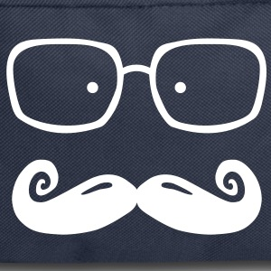 glasses and moustache Bags  - Backpack