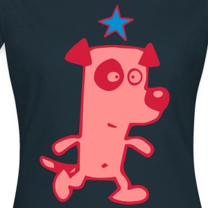 Hund Stern von Cheerful Madness!!  T-Shirts - Frauen T-Shirt
