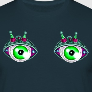 Twin eyes robot 01 - T-shirt Homme
