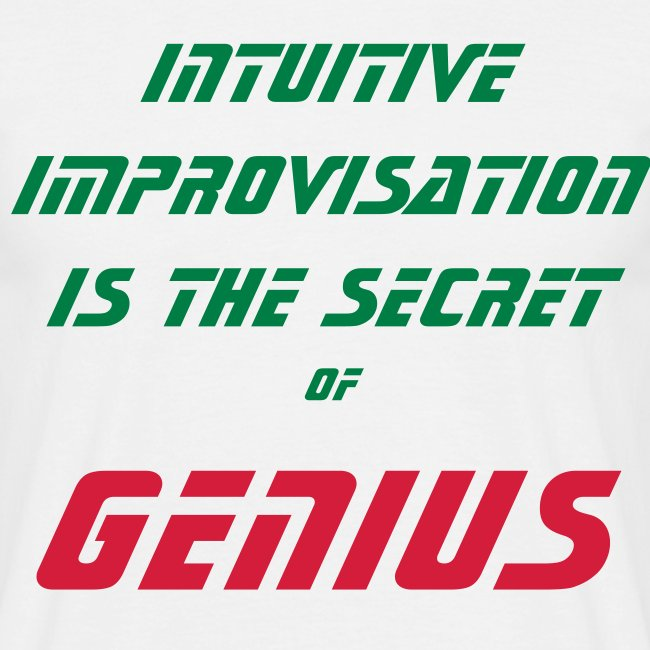 Secret of Genius backprint