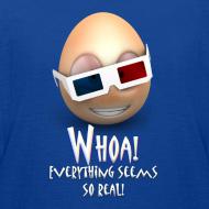 Design ~ Jason's a Moron - 3D Glasses - Womens Shirt