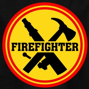 Firefighter Logo Icon Fire Department Shirts - Teenage T-shirt