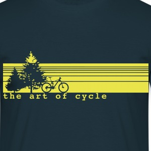 The art of cycle MTB T-Shirt - Männer T-Shirt