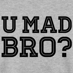 Like a cool you mad geek story bro typography Sweatshirts - Herre sweater