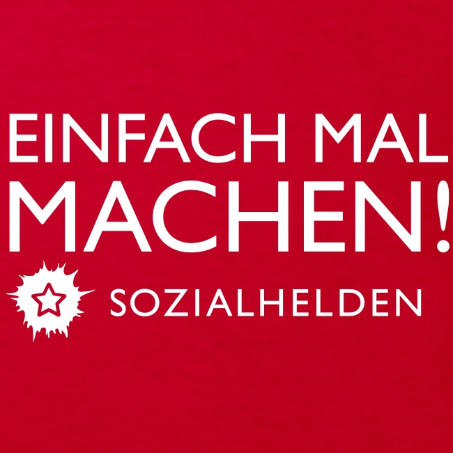 "Kinder-Shirt ""Machen!"", rot"