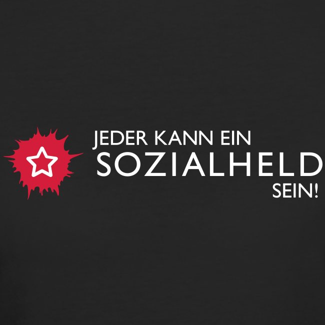 "Frauen-Shirt ""Held"", schwarz"