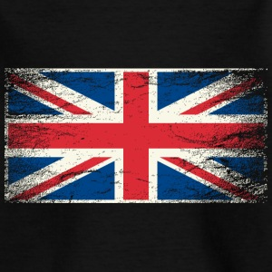 Kindershirt Flagge Union Jack (Grunge Style) - Kinder T-Shirt