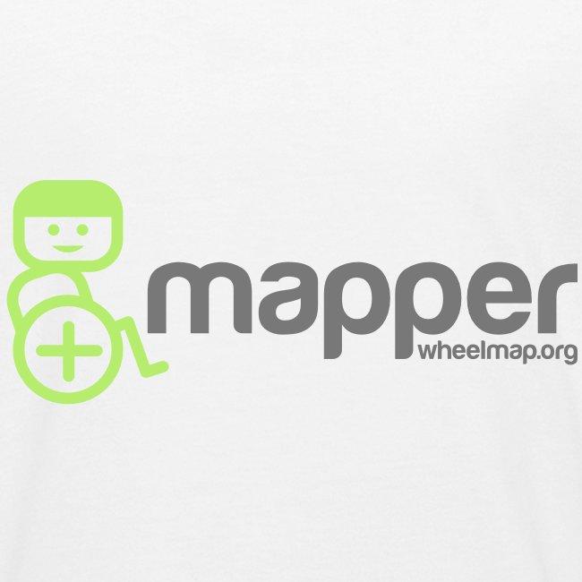 "Kinder-Shirt ""Mapper"", weiß"