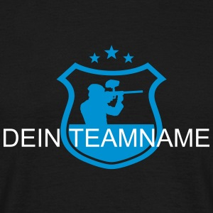 dein paintball team T-Shirts - Männer T-Shirt