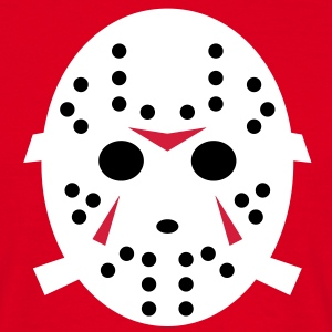 Freitag der 13te -  Horror - Jason Hockey Maske 3 T-Shirts - Men's T-Shirt
