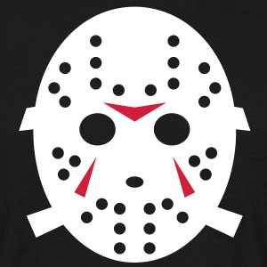 Freitag der 13te -  Horror - Jason Hockey Maske 2 T-Shirts - Men's T-Shirt