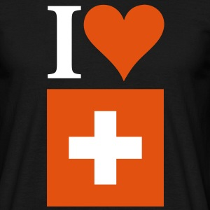 I Love Switzerland 3c T-Shirts - Men's T-Shirt