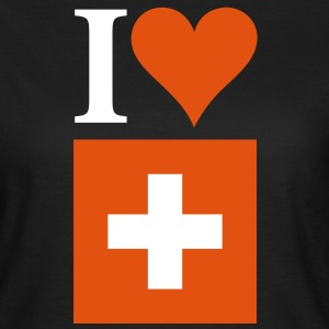 I Love Switzerland 3c T-Shirts - Women's T-Shirt