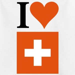 I Love Switzerland 3c Shirts - Kids' T-Shirt