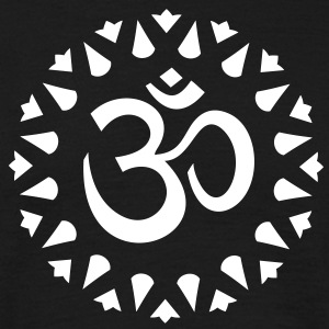 OM symbol Sanskrit sign Shiva Yoga T-Shirts - Men's T-Shirt