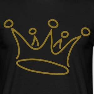 Nero crown_gold T-shirt - Männer T-Shirt
