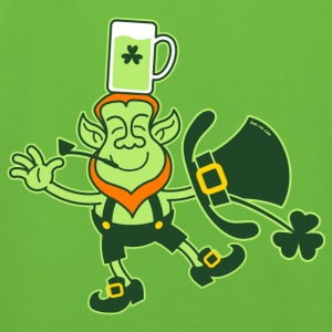 Leprechaun Balancing a Glass of Beer on his Head H - Kids' Premium Hoodie