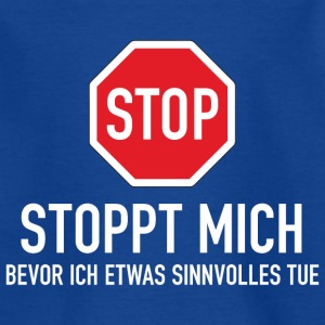 Kindershirt Stoppt mich! - Kinder T-Shirt