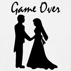 game over bachelor party T-Shirts - Männer T-Shirt