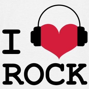 I Love Rock ! Tee shirts - T-shirt Homme