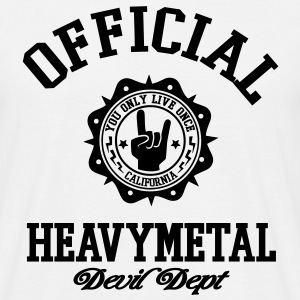 heavy metal - T-shirt Homme