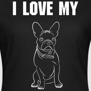 I love my Bully - Frauen T-Shirt