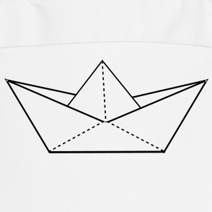 papier origami boat  Aprons - Cooking Apron