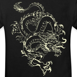 dragon chinois 21 by DK Tee shirts - T-shirt Bio Enfant