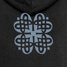 Shamrock Celtic knot decoration patjila Hoodies & Sweatshirts