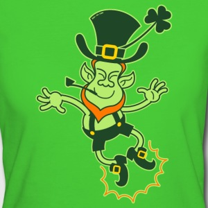 Irish Leprechaun Clapping Feet T-Shirts - Women's Organic T-shirt