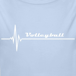 Volleyball - Puls Pullover & Hoodies - Baby Bio-Langarm-Body