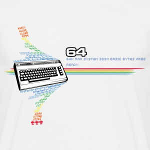 c64 Design T-Shirts - Men's T-Shirt
